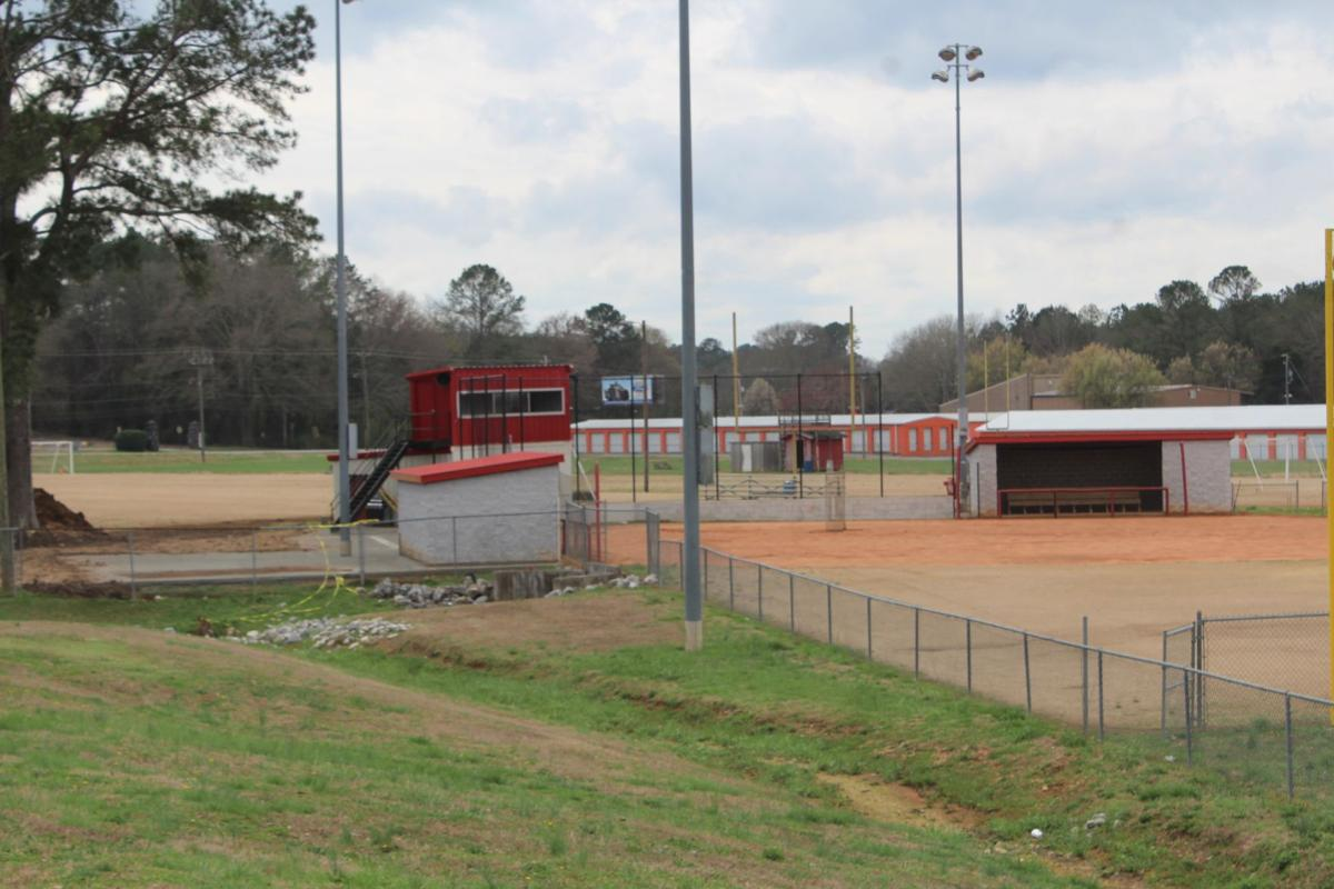 Cedartown Lady Bulldogs Softball Complex Work 2019