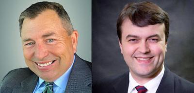 Robert Wardlaw (left) and Matt Williamson
