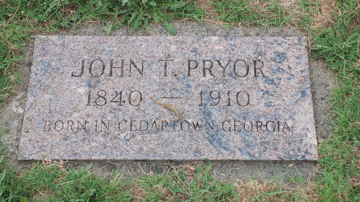 JT Prior grave marker