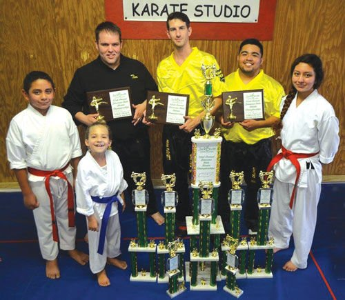 United Karate at the Jack Scott Tournament