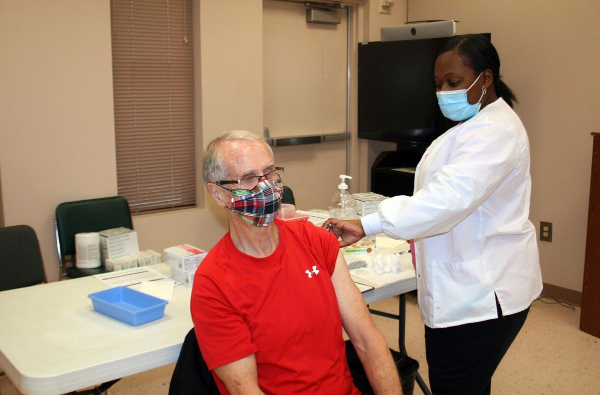 Rome's Department of Public Health begins vaccinating those 65 and older