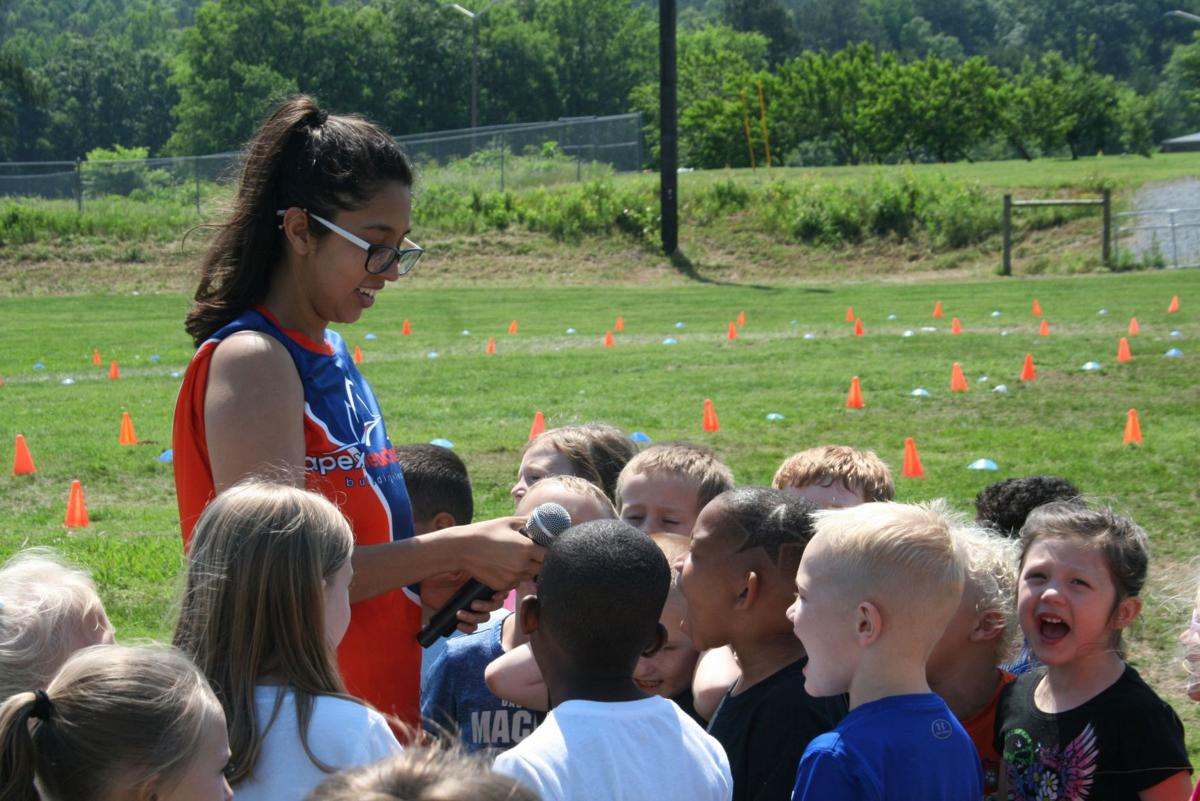 Field Day at Model Elementary School