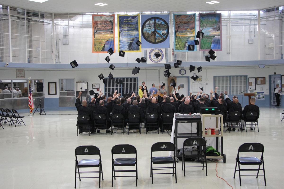 Walker State Prison graduation class 2019