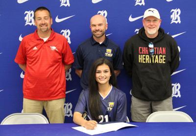 Joanna Medlin signs