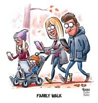 Family walk by Gatis Sluka of Latvia