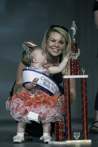 Little beauties claim their Coosa Valley Fair pageant crowns