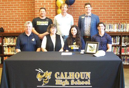 Calhoun's Kauffman signs with Reinhardt
