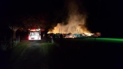 Browning Road house fire
