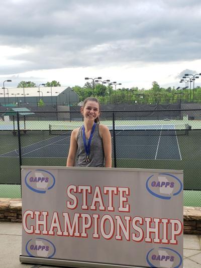 Dory Williams - Unity Christian School girls tennis