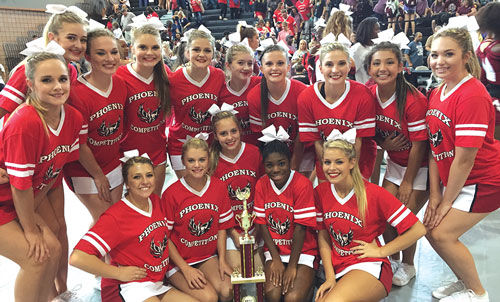 Sonoraville Cheerleading wins at Hillgrove