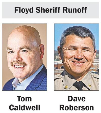 Floyd County Sheriff Republican Runoff candidates