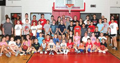Sonoraville Basketball Camp group shot