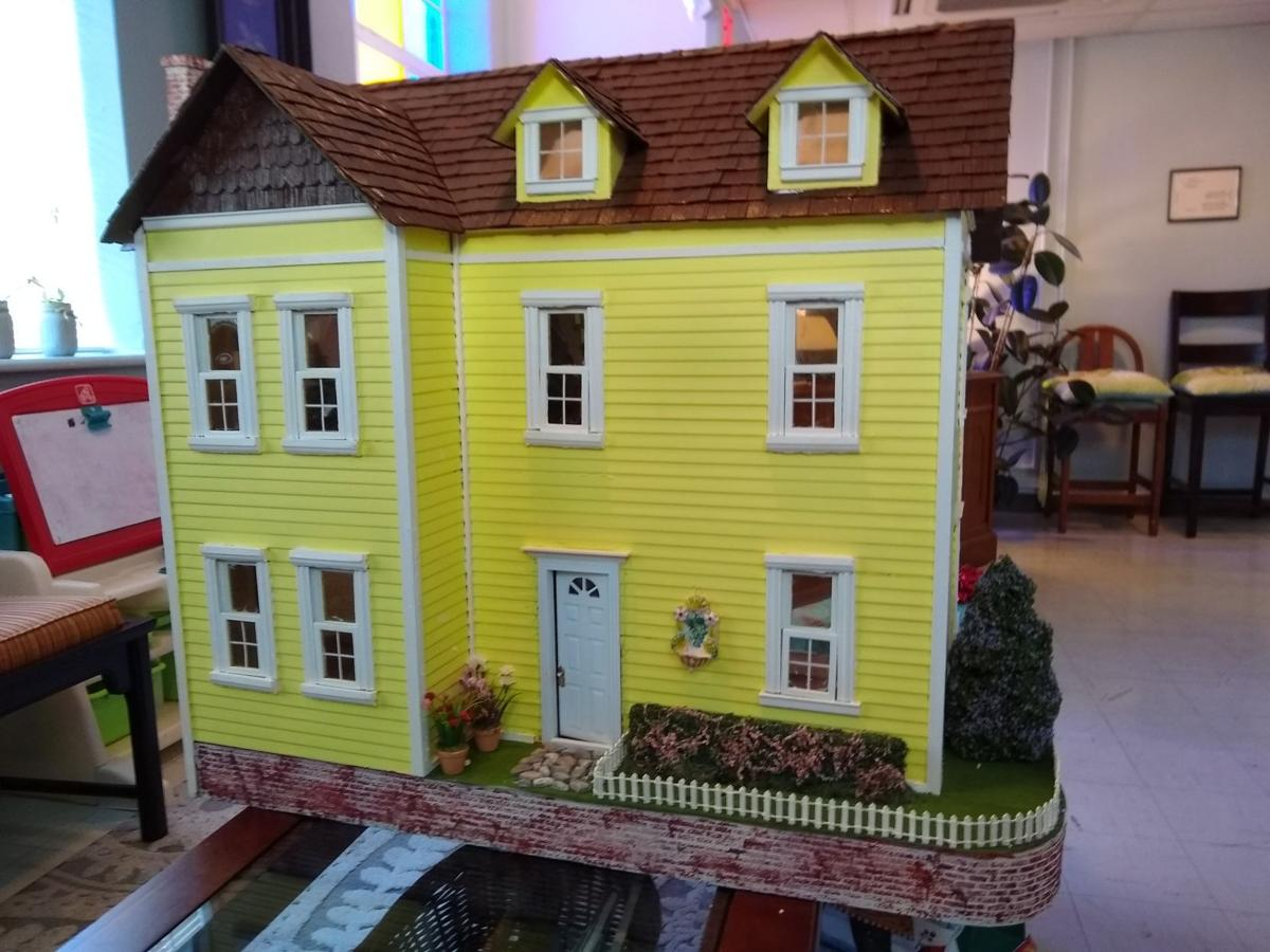Girl Scouts donated doll house to Exchange Club Family Resource Center