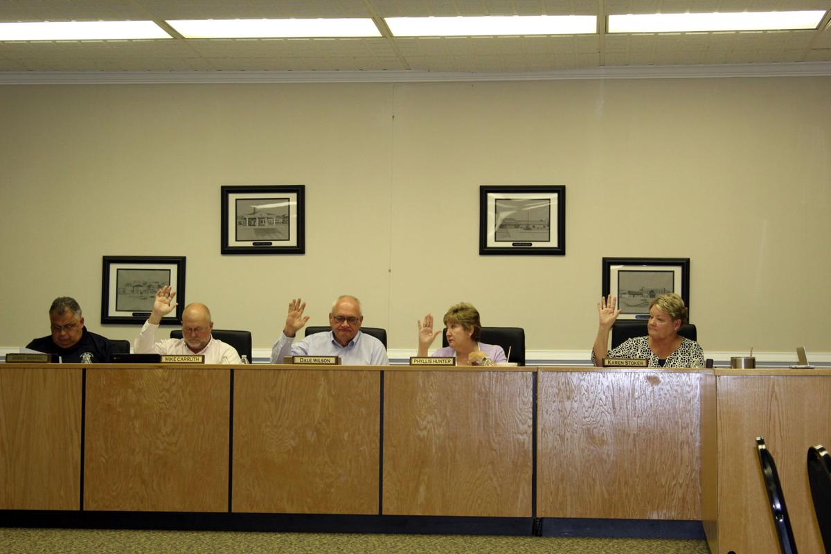 Walker County Board of Education members vote for millage rate increase