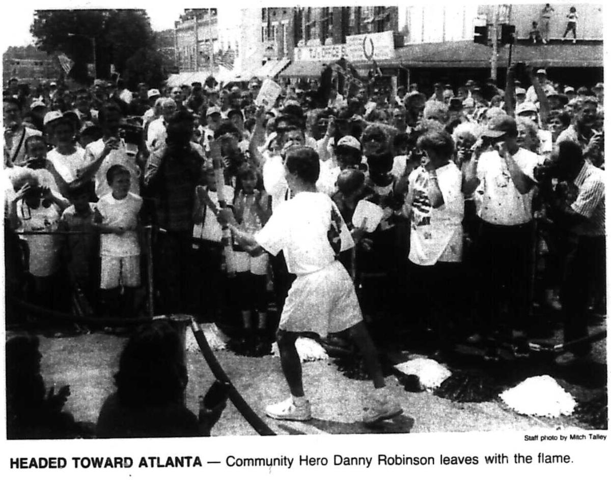 """""""It was a big day in Calhoun, Georgia"""": 25 years since torch relay"""