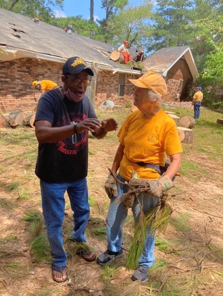 Chainsaw-toting 82-year-old helping Louisiana hurricane victims with cleanup