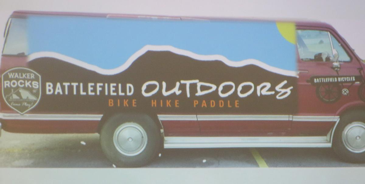 Battlefield Outdoors van