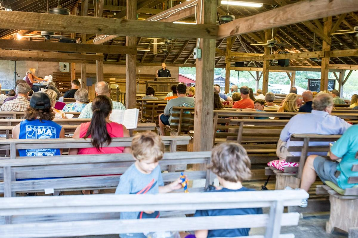 Camp meeting continues Morrison Campground, has been going on since 1868