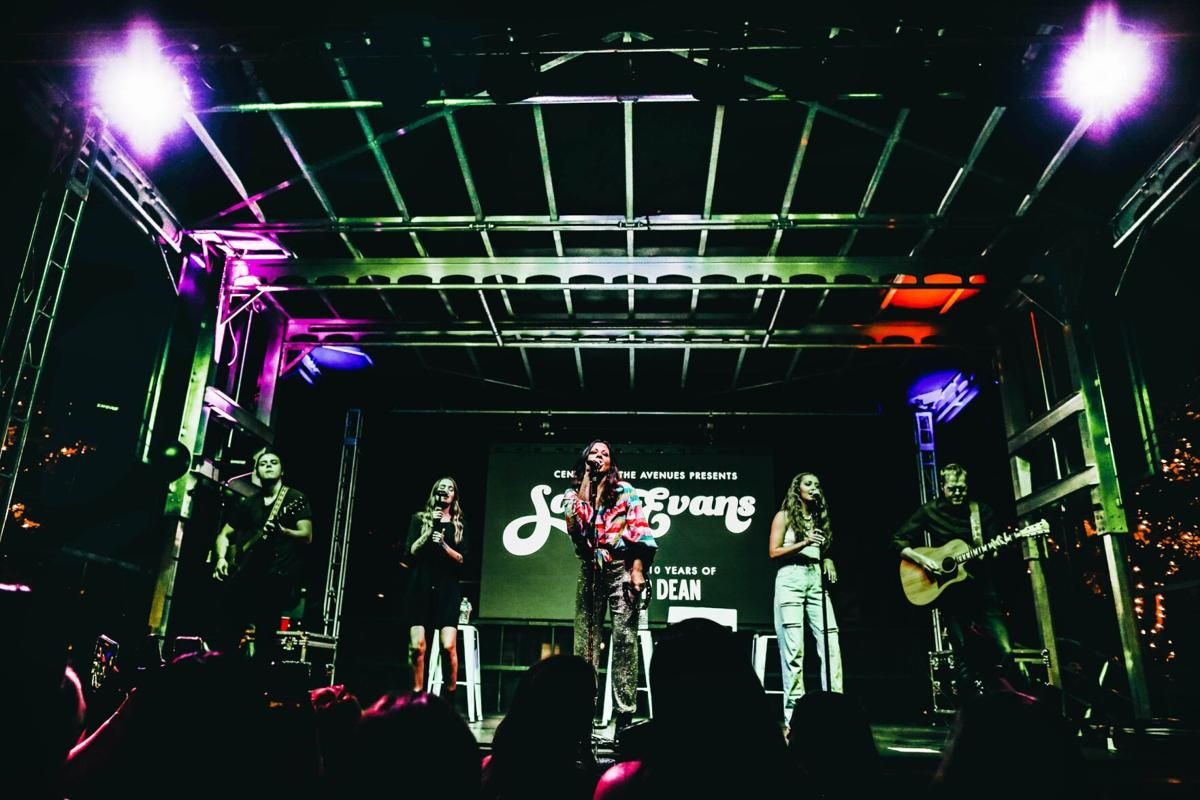 Downtown packed for runway show, concert