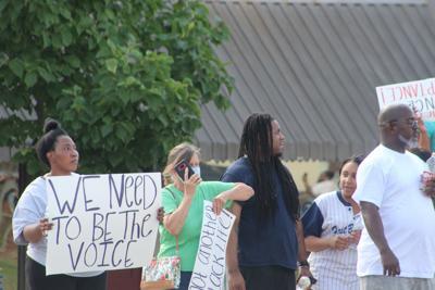Protest in Cedartown - June 2, 2020