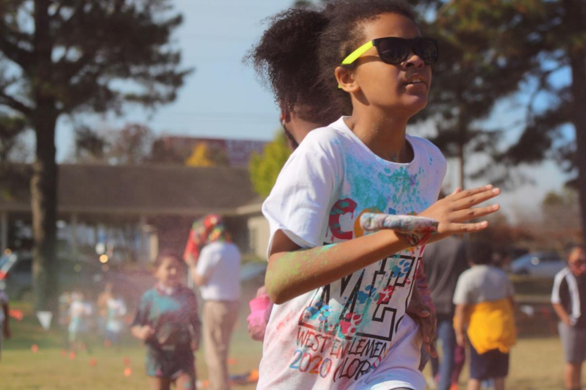 Clouds of color: West End color run back on after COVID delay