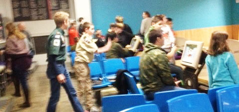 Local Scouts go bowling