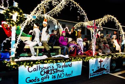 Calhoun rings in holiday season with annual Christmas Parade of Lights