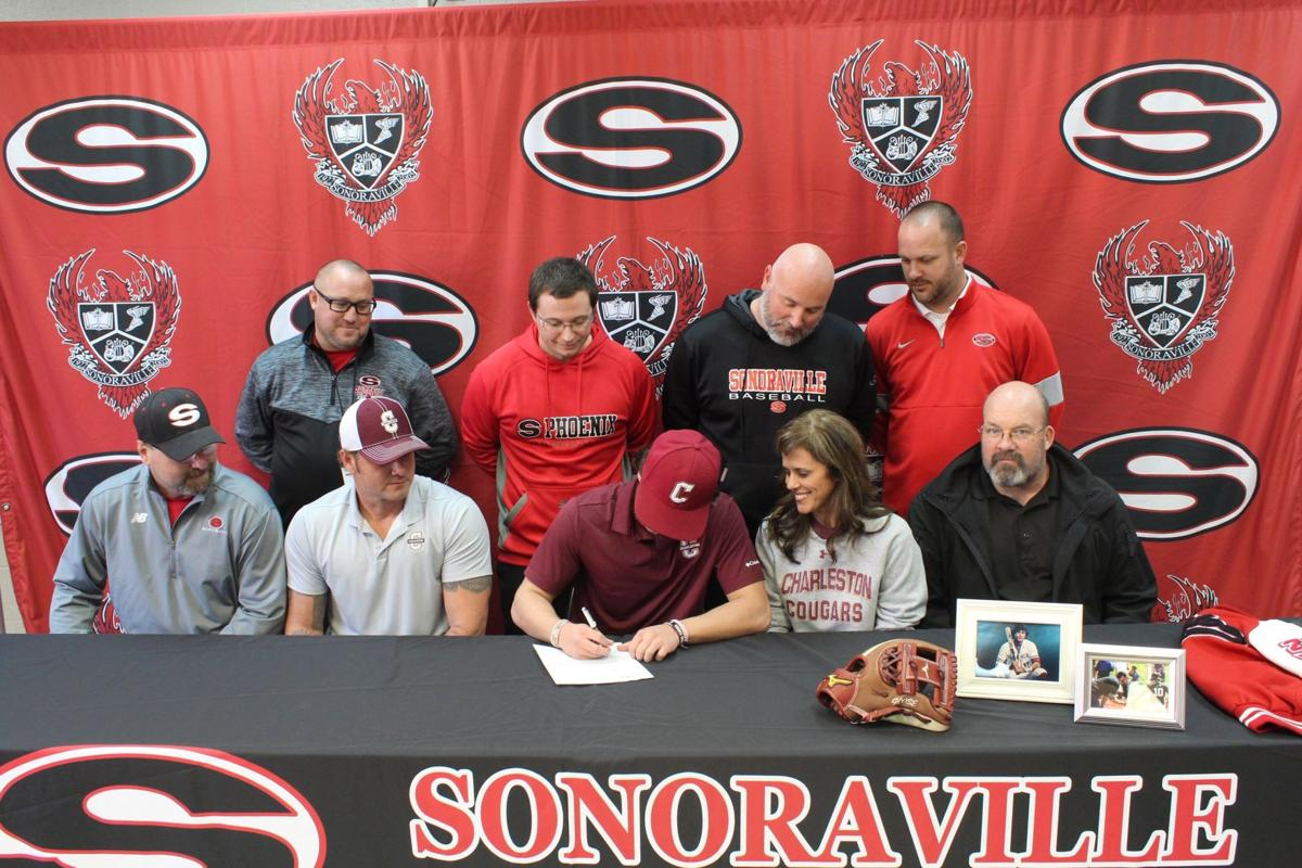 Sonoraville's Wyatt Castoe signs with College of Charleston