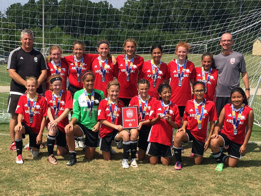 Rome YMCA Arsenal U14 Girls Red