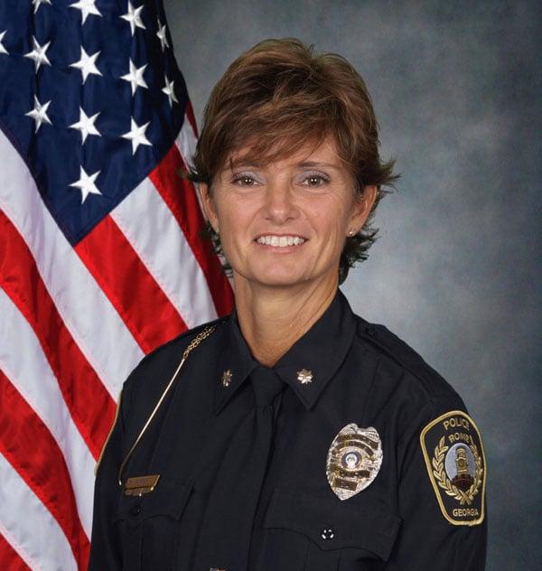 Police Chief Debbie Burnett, RPD
