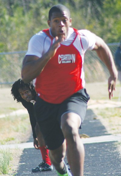 nick chubb track meet