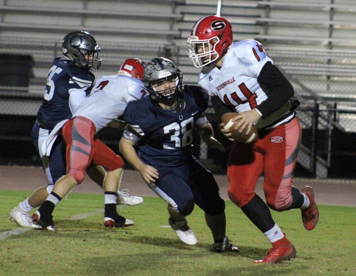 Brady Lackey run vs. Coahulla Creek