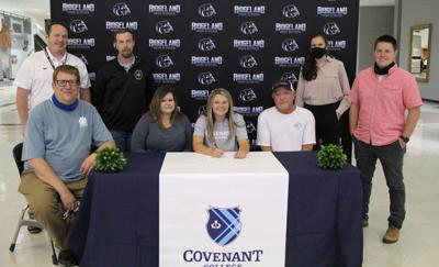 Macie Boren signs with Covenant College