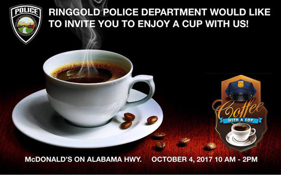 Coffee with a Cop is Oct. 4