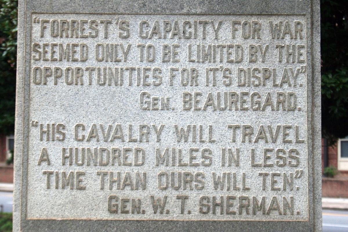 Forrest inscription
