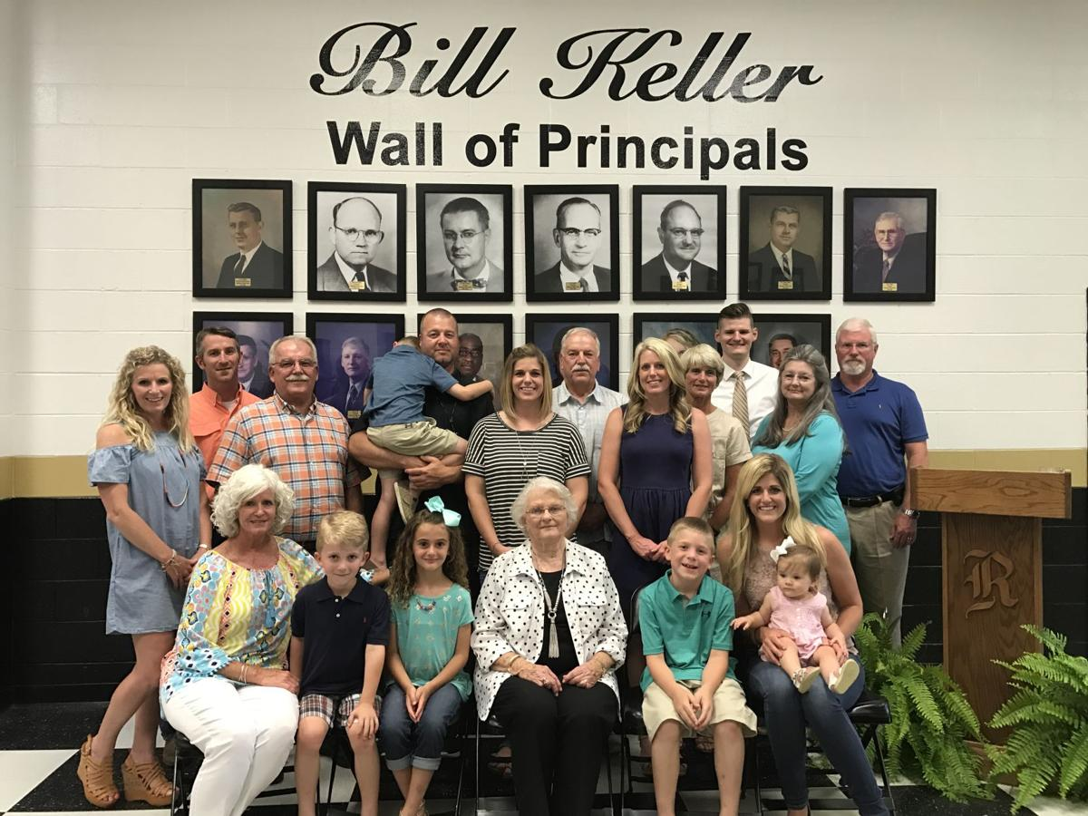 Bill Keller Wall of Principals