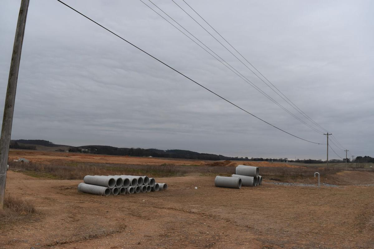 Regional planners reviewing proposed industrial development in southern Gordon County