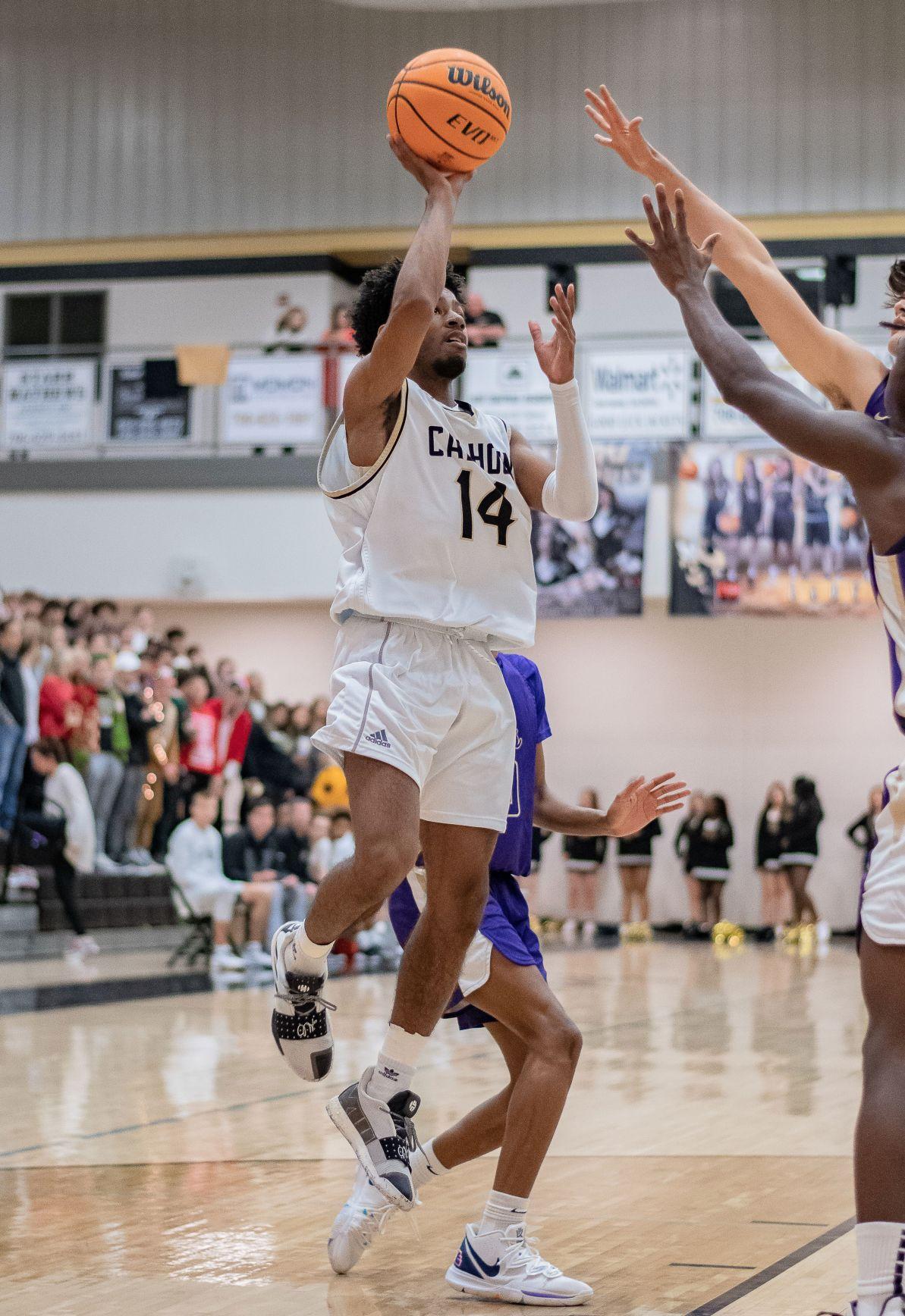 Caleb Boone - Calhoun Basketball vs. Cartersville