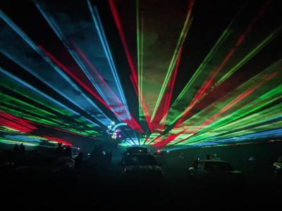 fairgrounds laser
