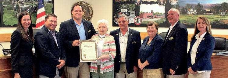 Fort Oglethorpe says goodbye to local historian, introduces new building inspector