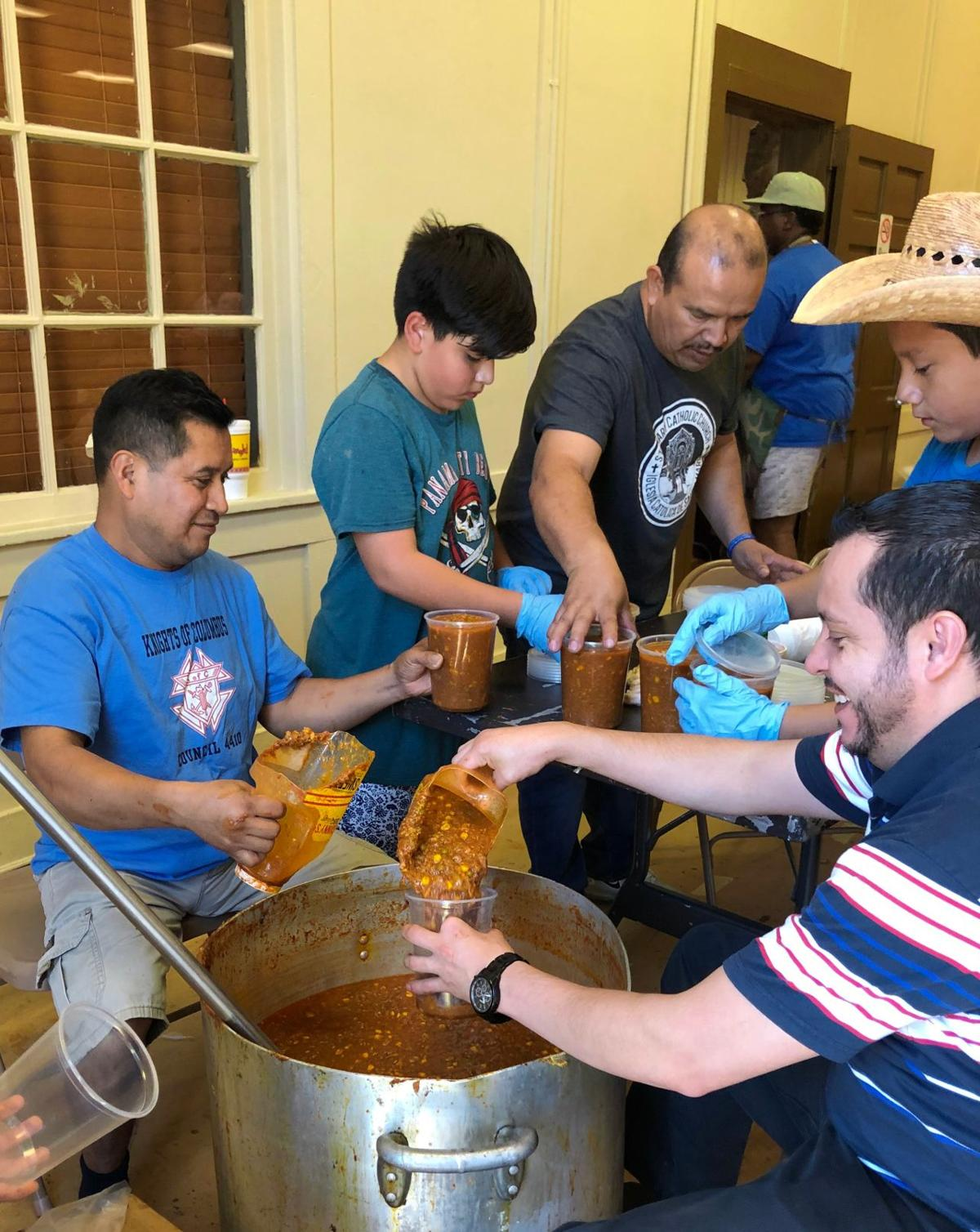 Knights of Columbus Labor Day BBQ fills stomachs, charity coffers