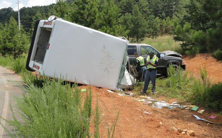 Mail carrier wreck