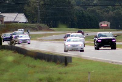 County PD message to drivers: 'slow down'