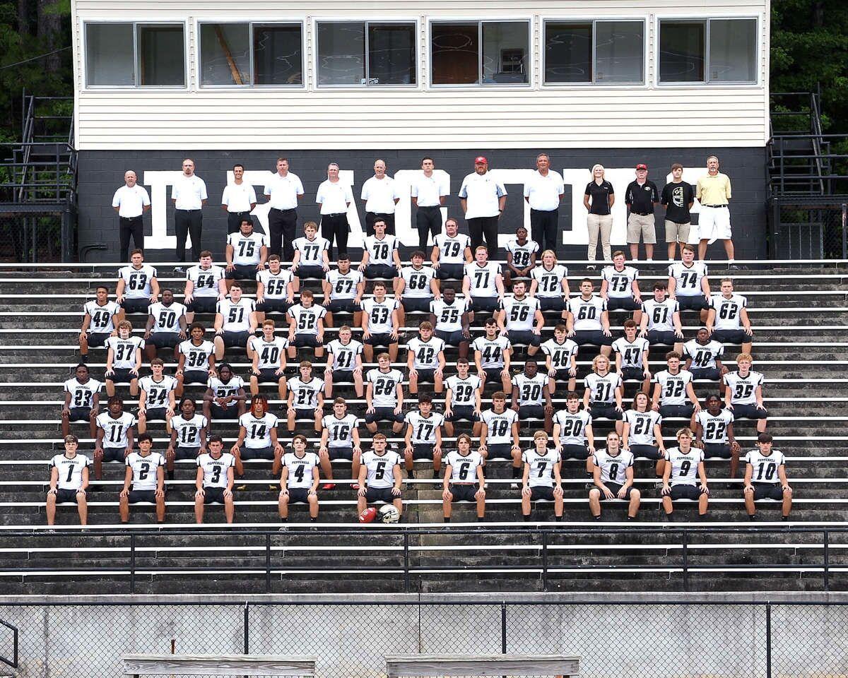 Pepperell Football 2020 team photo