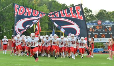Sonoraville offense scores early, often in final scrimmage at Gordon Central