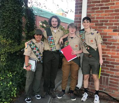 Rome High Eagle Scouts