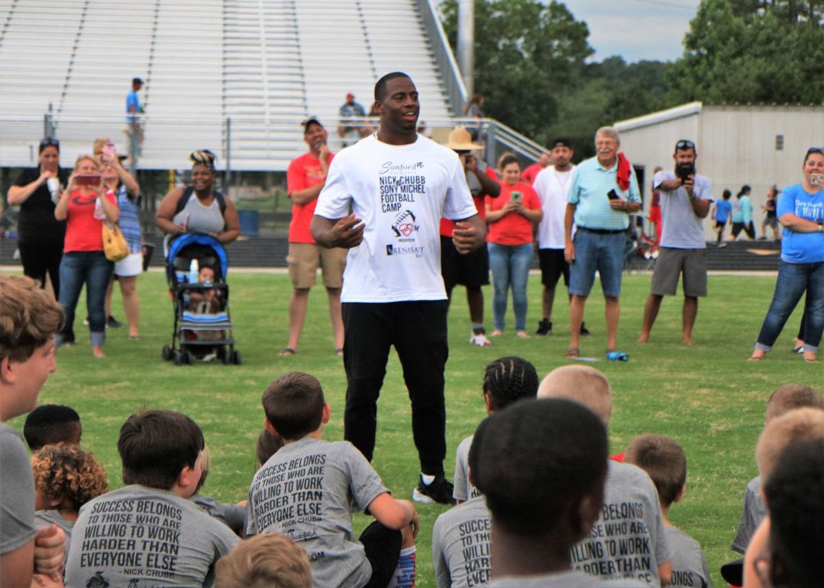 Chubb hosts Cedartown High football camp