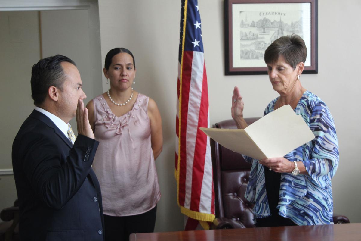 Iglesias sworn in to Polk County Commission