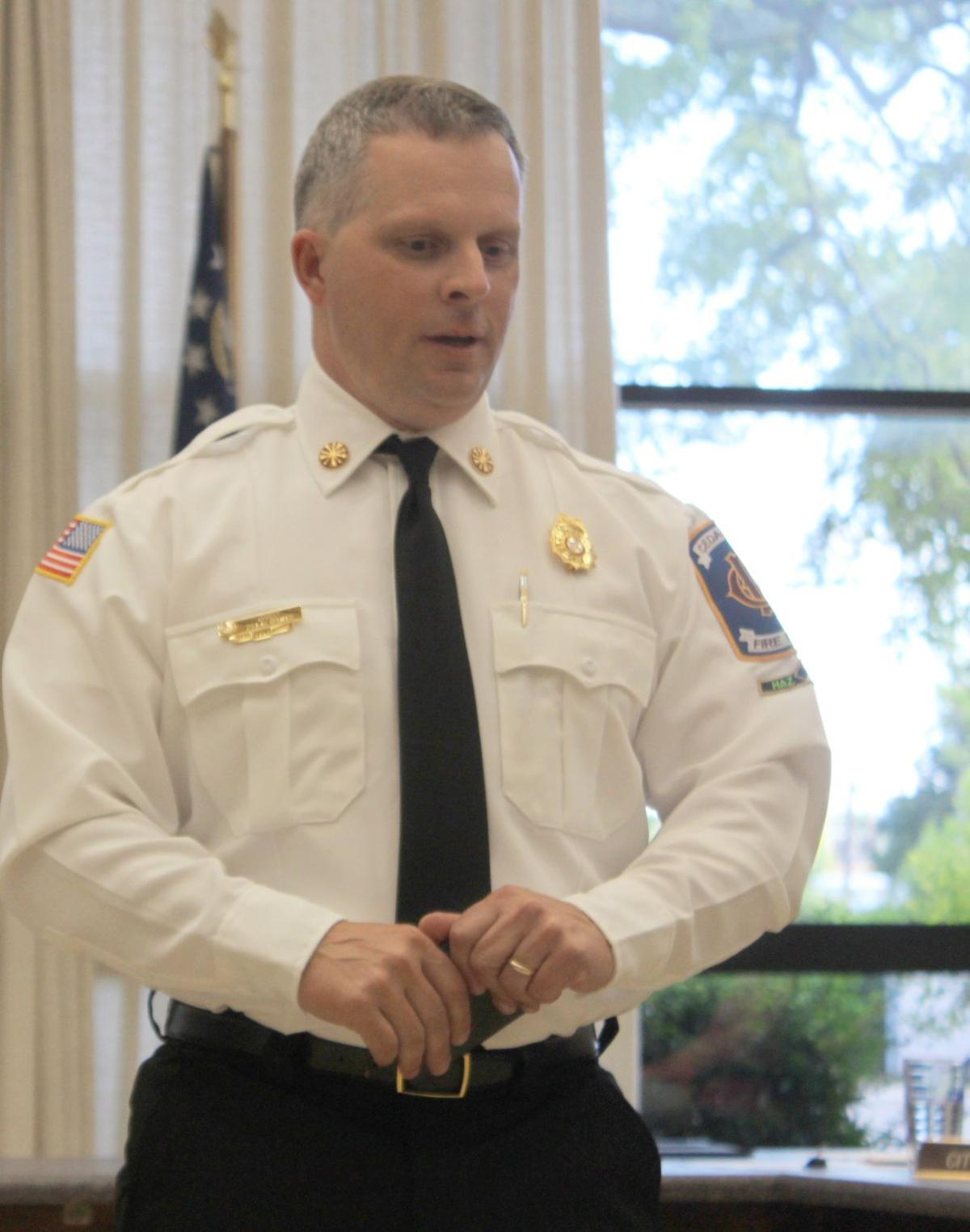 Felix White appointed as new CFD Fire Chief