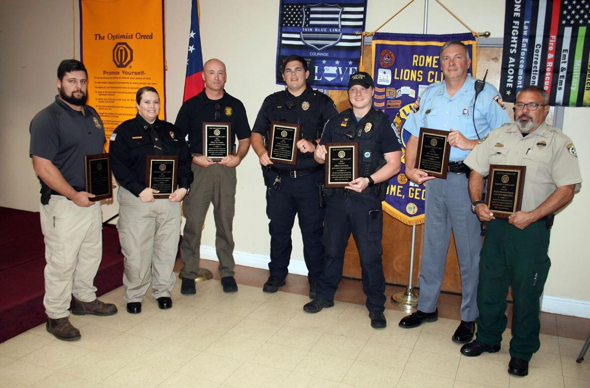 Seven honored at Respect for Law Awards luncheon
